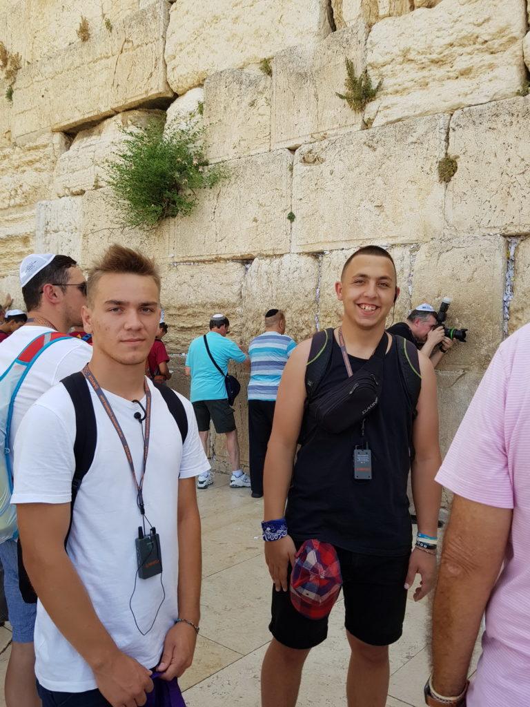 """Команда молодежного Христианского центра """"Альфа и Омега"""" посетила Израиль благодаря помощи Юрия и Марины Ериняк"""
