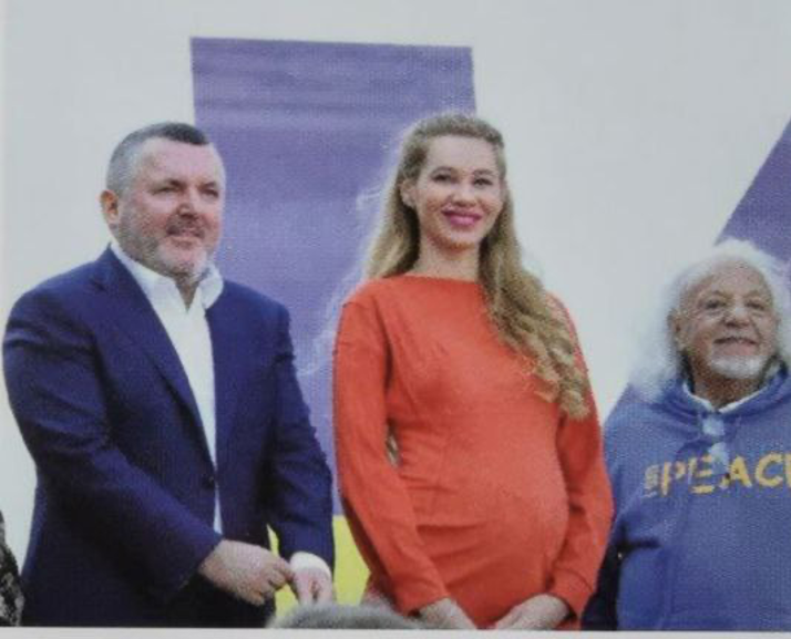 Юрий Ериняк, Марина Ериняк и Михаил Моргулис