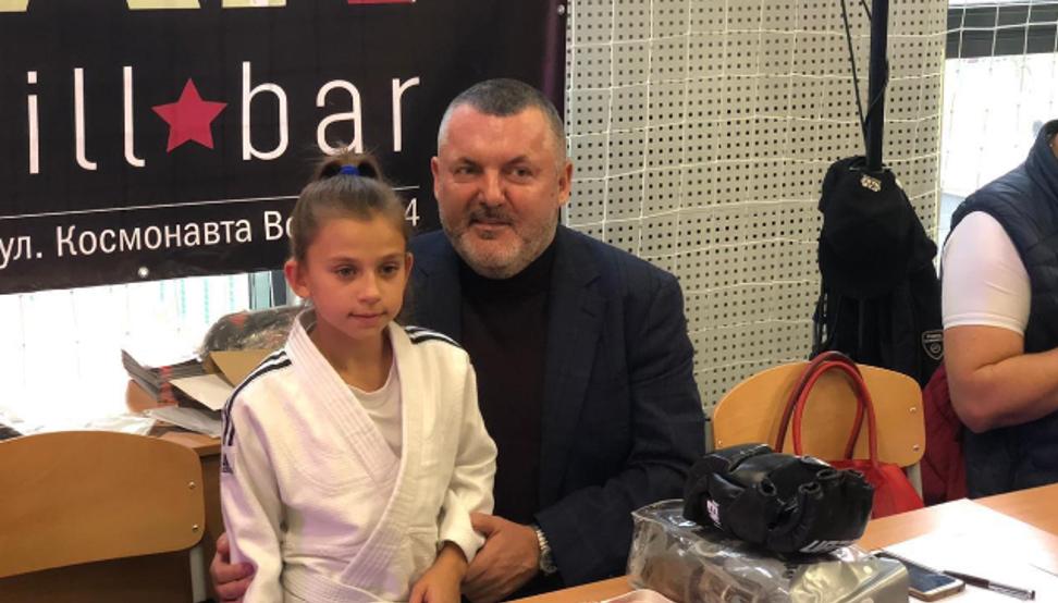 Юрий Ериняк и Николь Князева