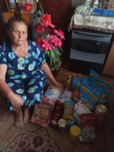 Помощь для одинокой пенсионерки Бургановой Валентины