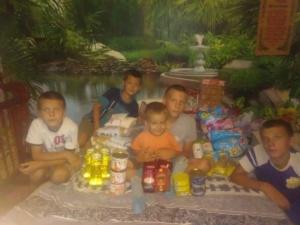Благотворительная помощь для многодетной семьи Ковальчук