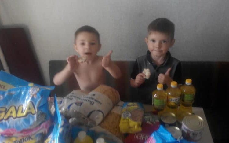 Юрий Ериняк помог семье Витрук