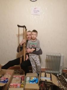 Мы продолжаем помогать жертвам военных действий на Донбассе